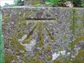 Image for Cut Bench Mark on St Mary the Virgin Church, Glynde Sussex