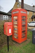 Image for Red Telephone Box - Weedon Lois, Northamptonshire, NN12 8PP