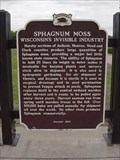 Image for Sphagnum Moss Wisconsin's Invisible Industry Historical Marker
