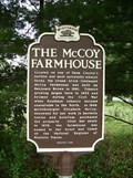 Image for The McCoy Farmhouse Historical Marker