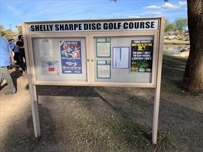 Shelley Sharpe Kiosk, Vista Del Camino Park