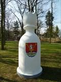 Image for Karlštejnské šachy (04) - bílý král / Chess of Karlstein castle - white king (Revnice, Czech Republic)