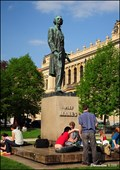 Image for Statue of Josef Mánes in Prague / Pomník Josefa Mánesa v Praze