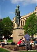 Image for Statue of Josef Mánes in Prague / Pomník Josefa Mánesa v Praze