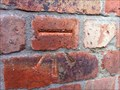 Image for Cut Benchmark on Madeley Road in Ironbridge, Shropshire