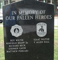Image for Fallen Heroes - Owego, NY