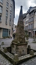 Image for Fontaine des Barres - Limoges, Limousin