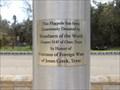 Image for Woodman Donated Flagpole - Veterans Memorial, Jones Creek, TX