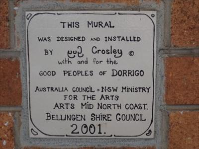 The tile for the artist: Guy Crosley - 2001. 1406, Sunday, 16 December, 2018