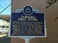 Image for Turner's Drug Store - Mississippi Blues Trail - Belzoni, MS