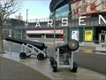 Image for Arsenal Football Club 32-Pounder Cannons - Holloway, London, UK