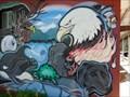 Image for Cherokee Trader Mural - Cherokee, North Carolina, USA