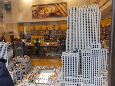 Manhattan Legos - New York City
