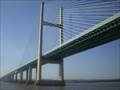 Image for M4, Severn Bridge Crossing, between England & Wales.