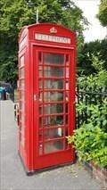 Image for Red Telephone Box - Church Street - Ruddington, Nottinghamshire