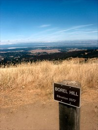Boral Hill and the view of San Francisco Bay