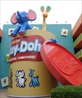 Image for Giant Play-Doh - Disney's Pop Century Resort, Florida, USA.