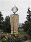 Image for Lions Club Globe Marker - Palmer, Alaska