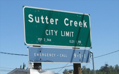 sutter creek dating Two fast-acting citizens helped control a small fire in sutter creek, as crews were  en route  said the sutter creek police department +2 fire  4 online dating  sites that actually work for freetop us dating sites.