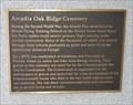 Image for Arcadia Oak Ridge Cemetery - Arcadia, Florida, USA