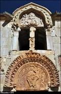 Image for Reliefs on gavit of Surb Karapet / St. John the Baptist Church - Noravank Monastery (Vayots Dzor province - Armenia)