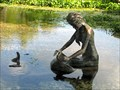 Image for Salado, Texas: Indian Mermaid Statue