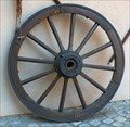 Image for Decorative Wheel at Domaine Charles Baur, Eguisheim - Alsace / France