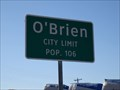 Image for O'Brien, TX - Population 106
