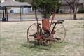 Image for J. J. Case Horse-drawn Cotton Seeder - Nance Farm, De Soto TX
