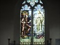 Image for Stained Glass Window, St Margaret of Antioch Church, Lower Halstow. Kent UK