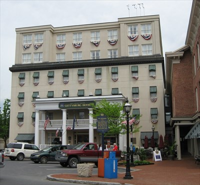 The Haunted Gettysburg Hotel Pa Ghosts And Hauntings On Waymarking
