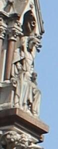 Image for Queen Elizabeth I -- Westminster Scholars Memorial, Westminster, London, UK