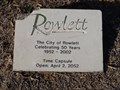 Image for City of Rowlett Time Capsule - Rowlett, TX