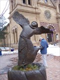 Image for St. Francis of Assisi Dancing on Water - Sante Fe, New Mexico