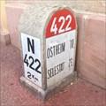 Image for N422 2Km's milestone, Colmar, Alsace, France