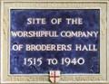 Image for Broderers Hall - Gutter Lane, London, UK