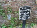 Image for Wendover Arm of Grand Union Canal - Metal mile Marker