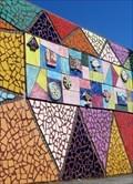 Image for Triangles - Mural - Eisenhower Pier, Bangor, Northern Ireland.