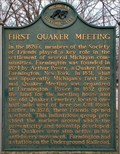 Image for First Quaker Meeting