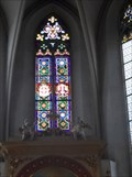 Image for Maltese Church Stained Glass Window  - Vienna, Austria
