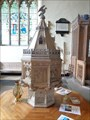 Image for Gothic Font - St Mary's Church - Tenby, Pembrokeshire, Wales.