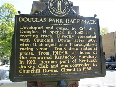 Douglas Park Racetrack (E), Louisville, KY