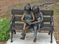 Image for Two kids on a Bench - Cross Plains, TX