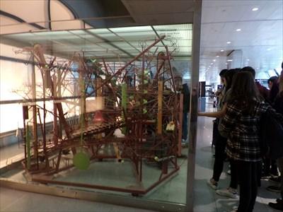 veritas vita visited Exercise in Fugality by George Rhoads - Logan International Airport Terminal E - Boston,MA