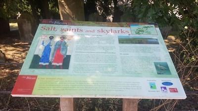 Salt, Saints and Skylarks - Blean, Kent - UK Historical