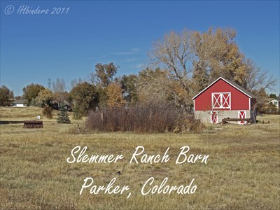 As part of the Slemmer Ranch, the family built the barn in 1919 that was used to house dairy cows and horses on the first floor and functioned as a hay loft on the second floor. 