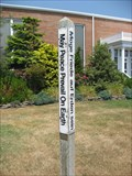 Image for St. Francis Peace Pole - Brant Beach, (LBI) NJ