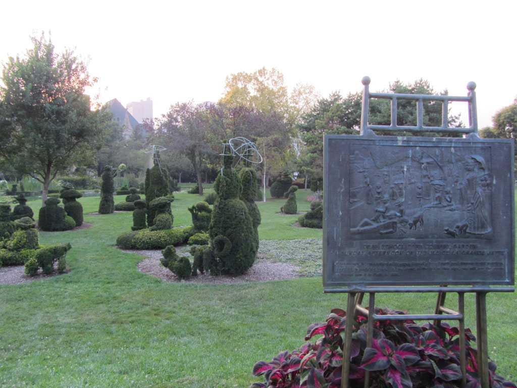Deaf School Park Topiary Garden Columbus Ohio Image