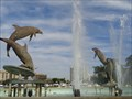 Image for Dolphin Fountain - Sarasota, Florida, USA.
