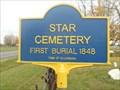 Image for Star Cemetery - Ellenburg, NY